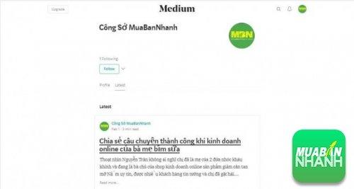 Tin tức công sở trên Medium