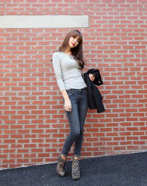 Những cách mặc jean đẹp nhất