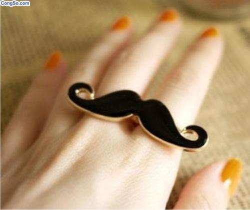 Nhãn mustache