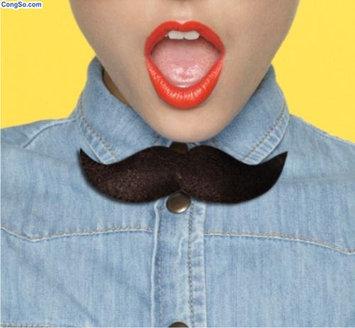 Nơ mustache