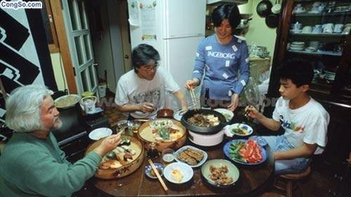 Bữa ăn thường ngày của người Nhật